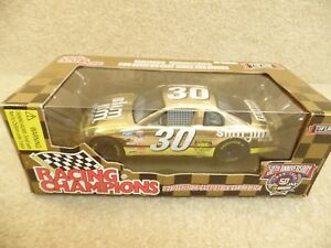 1998 Racing Champions 1:24 Gold NASCAR Mike Cope Slim Jim Chevy Monte Carlo a