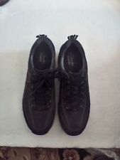 CLARKS SHOES WOMEN'S WAVE WALK SHOES SIZE  10 MED BROWN LEATHER