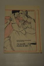 """"""" ECHO DE LA MODE """" PATRON SUPPL. DU N°51 // CHEMISE DE NUIT TAILLES 40 & 44"""