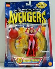 "MARVEL AVENGERS ""SCARLET WITCH"" ACTION FIGURE NIP"