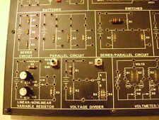 Lab-Volt DC Fundamentals Course Circuit Board # 91001-20