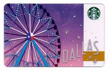 Starbucks Gift Card / DALLAS TX / Ferris Wheel / 2018 City Series - NEW!