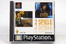Tomb Raider IV & Chronicles (Sony Playstation 1/2) ps1 Game Original Box, CIB used