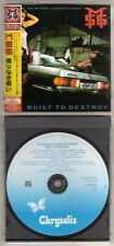 MICHAEL SCHENKER GROUP: BUILT TO DESTROY CD JAPANESE HARD ROCK SCORPIONS UFO