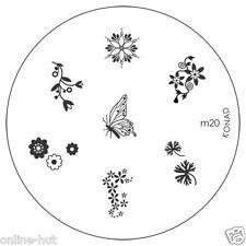 Originale Konad stamping stencil per stamping VERNICE m20