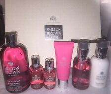MOLTON BROWN  Fiery Pink Pepper Gift Box Set Body Wash Hand Lotion Cream