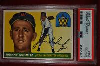 1955 Topps - Johnny Schmitz - #159 - PSA 6 - EX-MT