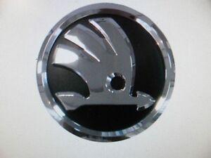 Skoda Fabia / Octavia II Black & Chrome Rear Badge