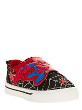**NEW BOYS MARVEL SPIDERMAN LICENSED ATHLETIC CASUAL SHOES TODDLER