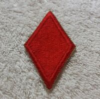 WW2 US Army 5th Infantry Division Red Devils Diamond SSI Patch Auth No Glow NOS