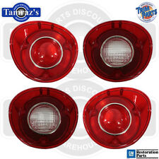 72 SS Malibu Back Up & Tail Light Lamp Lens -  SET Made in USA New