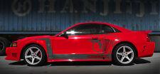 Front Mount Intercooler Kit +BOV +oil cooler For 96-04 Ford Mustang 4.6L V8