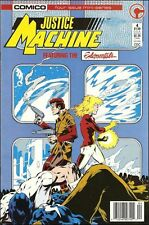 JUSTICE MACHINE FEATURING THE ELEMENTALS #4 OF 4 ISSUE MINI-SERIES COMICO COMICS