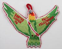 OA Lodge 116 Santee eX1994-4, Fdl; Fall Fellowship [D1776]