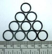 O RINGS - RUBBER - 16 x 13 x 1,5 mm - PACK OF 10