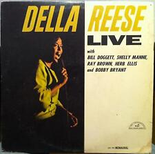 Della Reese - Live LP VG+ CDN ABC 569 Vinyl 1966 Canada Mono Sparton Rare 1st