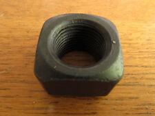 "Standard SAE 3/4""-16 tpi Black SQUARE TRACK SHOE NUT (W-21)"