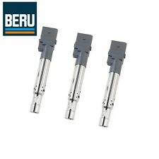 Set of 3 Audi A3 Q7 TT Quattro Volkswagen CC Passat Rear Touareg Ignition Coils