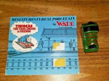Thomas the Tank Engine Percy miniature by Wade w/ original card Green Train
