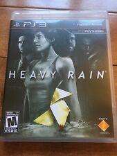 Heavy Rain PS3 with manual