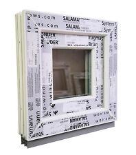 Kunststofffenster (Kunststoff – Fenster) 40x40 cm bxh, (400x400 mm bxh), weiß