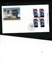 CANADA 1994  43c U.N.I. CIVIL AVIATION MNH BL/4 on FDC #1528 BOX 534