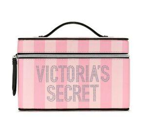 *NEW* VICTORIA SECRET Signature Stripe Runway Vanity Case