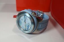 Swiss Legend Men's Neptune Watch Light Blue Camouflage Dial Silicone 11852C-012