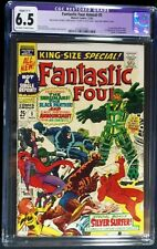 Fantastic Four Annual #5 CGC 6.5 Restored 1st solo silver surfer story