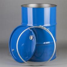 210 Liter Blechfass Stahlfass Fass Ölfass Metallfass Deckelfass 2. Wahl fw