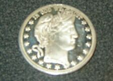 BARBER HALF TRIBUTE 1 oz .999 Silver In God We Trust Liberty Head Dollar