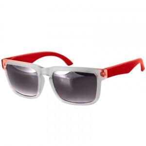 CASPAR SG018 Unisex Retro Design Sunglasses Transparent Frosted Frame Mirrored