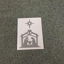 Nativity Scene Sticker