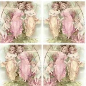 4 single paper napkins 33 cm, Sagen, decoupage fairies, decoupage, crafts R3301