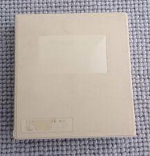 """5.25"""" BBC APPLE ATARI Floppy Disk Vintage Plastic Box Storage Container Cream"""