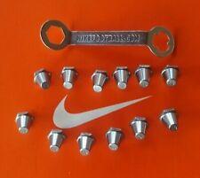 Nike Original Aluminum Alloy SG-Pro 13mm & 15mm Metal Soccer Studs & Nike Wrench