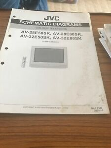 JVC AV28E50SK / AV-28E88SK AV-32E50SK,AV 32E88SK ServiceManual For Colour Tv