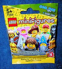 1 LEGO MINI FIGURE SERIES 12 WIZARD PIZZA TACO GUY HUN PIGGY VIDEO GAMER 71007