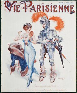 1931 Art Deco La Vie Parisienne magazine Leo Fontan - Maurice Milliere