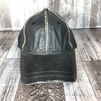 WILSONS THE LEATHER EXPERTS HAT CAP ADJUSTABLE STRAP BACK ONE SIZE FITS MOST OSF