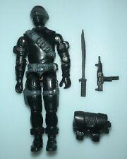 1985 GI Joe Snake Eyes v2 Commando Action Figure & Accessory Lot *BROKEN READ