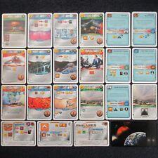 UK Terraforming Mars Board Game x20 Turmoil Kickstarter Promo Card Set FryxGames