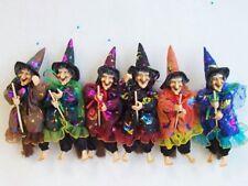 6-er Set Hexen,18 cm,Fasching,Fasnet,Hexenfiguren,Hexe,Halloween,Faschingsdeko,