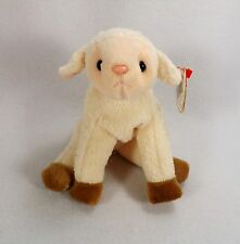 "3 ERROR ""EWEY"" LAMB  TY BEANIE BABY-ADULT OWNED"