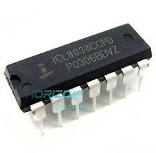 10PCS ICL8038 INTERSIL IC OSCILL GEN/VOLT CONTROL 14DIP NEW ICL8038CCPD