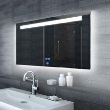 Design Badezimmerspiegel Badspiegel Wandspiegel LED Beleuchtung 120x65cm ML6512