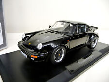 Porsche 911 Turbo 3.3 930 black 1978-1989  Norev 1:18 NEW FREE SHIPPING