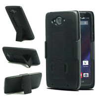 OEM ENCASED® Shell Holster Combo Case With Kickstand For Verizon Motorola Turbo