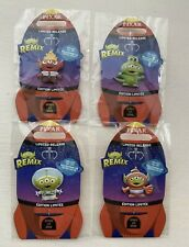 Disney Store Limited Release Pixar Alien Remix Pin Set of 4 - Series 1 out of 6
