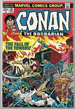 CONAN THE BARBARIAN (1970) #26 9.2 NM- WHITE PAGES